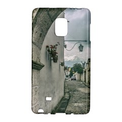 Colonial Street Of Arequipa City Peru Galaxy Note Edge by dflcprints