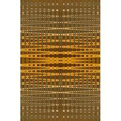 Yellow Gold Khaki Glow Pattern 5 5  X 8 5  Notebooks