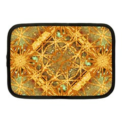 Digital Abstract Geometric Collage Netbook Case (medium)  by dflcprints