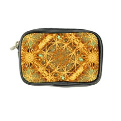 Digital Abstract Geometric Collage Coin Purse by dflcprints