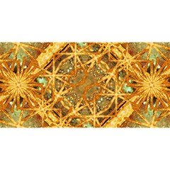 Digital Abstract Geometric Collage You Are Invited 3d Greeting Card (8x4)