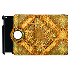 Digital Abstract Geometric Collage Apple Ipad 2 Flip 360 Case by dflcprints