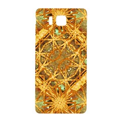 Digital Abstract Geometric Collage Samsung Galaxy Alpha Hardshell Back Case by dflcprints