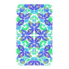 Stylized Floral Check Seamless Pattern Memory Card Reader by dflcprints