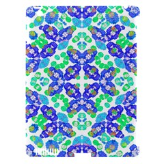 Stylized Floral Check Seamless Pattern Apple Ipad 3/4 Hardshell Case (compatible With Smart Cover) by dflcprints