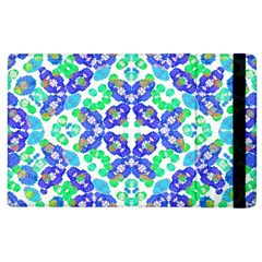 Stylized Floral Check Seamless Pattern Apple Ipad 3/4 Flip Case by dflcprints
