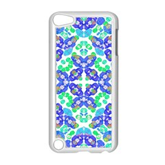 Stylized Floral Check Seamless Pattern Apple Ipod Touch 5 Case (white) by dflcprints