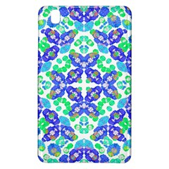 Stylized Floral Check Seamless Pattern Samsung Galaxy Tab Pro 8 4 Hardshell Case by dflcprints
