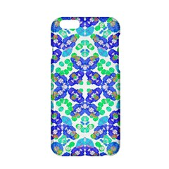 Stylized Floral Check Seamless Pattern Apple Iphone 6/6s Hardshell Case by dflcprints