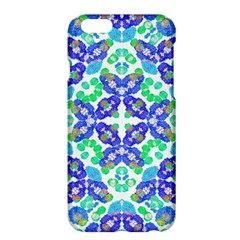 Stylized Floral Check Seamless Pattern Apple Iphone 6 Plus/6s Plus Hardshell Case by dflcprints