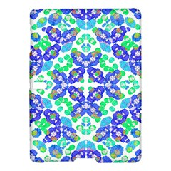 Stylized Floral Check Seamless Pattern Samsung Galaxy Tab S (10 5 ) Hardshell Case  by dflcprints