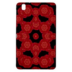 Stylized Floral Check Samsung Galaxy Tab Pro 8 4 Hardshell Case by dflcprints