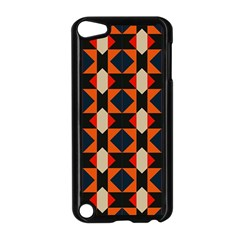Rhombus And Stripes      			apple Ipod Touch 5 Case (black) by LalyLauraFLM