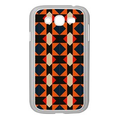 Rhombus And Stripes      			samsung Galaxy Grand Duos I9082 Case (white) by LalyLauraFLM