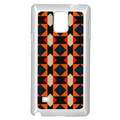 Rhombus And Stripes      			samsung Galaxy Note 4 Case (white)