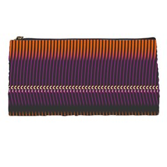 Curvy Stripes       	pencil Case