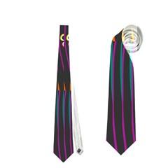 Curvy Stripes       Necktie by LalyLauraFLM