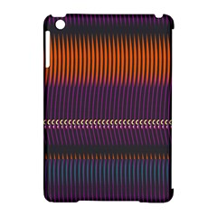 Curvy Stripes       			apple Ipad Mini Hardshell Case (compatible With Smart Cover) by LalyLauraFLM