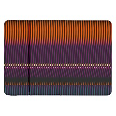 Curvy Stripes       			samsung Galaxy Tab 8 9  P7300 Flip Case by LalyLauraFLM
