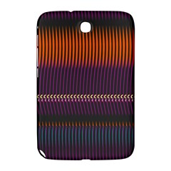 Curvy Stripes       			samsung Galaxy Note 8 0 N5100 Hardshell Case by LalyLauraFLM