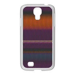 Curvy Stripes       			samsung Galaxy S4 I9500/ I9505 Case (white) by LalyLauraFLM