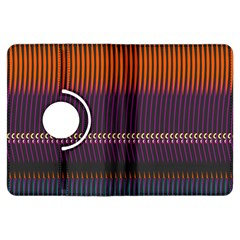 Curvy Stripes       			kindle Fire Hdx Flip 360 Case by LalyLauraFLM