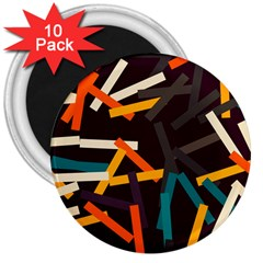 Sticks          			3  Magnet (10 Pack) by LalyLauraFLM