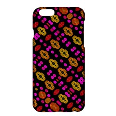 Stylized Floral Stripes Collage Pattern Apple Iphone 6 Plus/6s Plus Hardshell Case by dflcprints