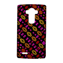 Stylized Floral Stripes Collage Pattern Lg G4 Hardshell Case by dflcprints