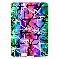 Multicolor Geometric Grunge Kindle Fire Hdx Hardshell Case by dflcprints