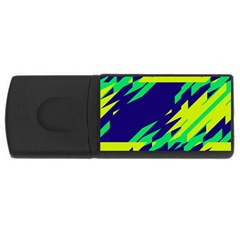 3 Colors Shapes    			usb Flash Drive Rectangular (4 Gb) by LalyLauraFLM