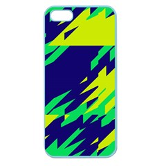 3 Colors Shapes    apple Seamless Iphone 5 Case (color) by LalyLauraFLM