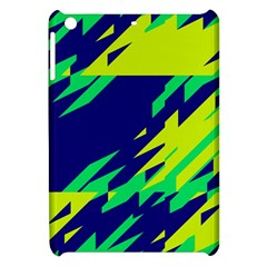 3 Colors Shapes    			apple Ipad Mini Hardshell Case by LalyLauraFLM