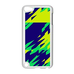 3 Colors Shapes    apple Ipod Touch 5 Case (white) by LalyLauraFLM
