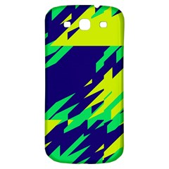 3 Colors Shapes    			samsung Galaxy S3 S Iii Classic Hardshell Back Case by LalyLauraFLM
