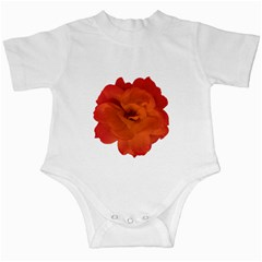 Red Rose Photo Infant Creepers by dflcprints