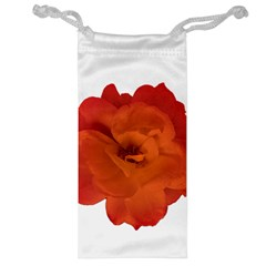 Red Rose Photo Jewelry Bags by dflcprints
