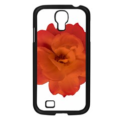 Red Rose Photo Samsung Galaxy S4 I9500/ I9505 Case (black) by dflcprints