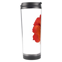 Red Rose Photo Travel Tumblers by dflcprints