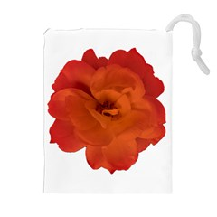 Red Rose Photo Drawstring Pouches (extra Large)