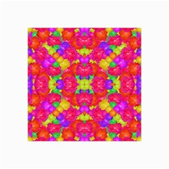 Multicolor Floral Check Collage 12  X 18  by dflcprints