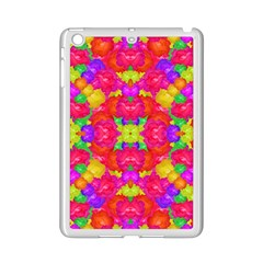 Multicolor Floral Check Ipad Mini 2 Enamel Coated Cases by dflcprints