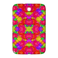 Multicolor Floral Check Samsung Galaxy Note 8 0 N5100 Hardshell Case  by dflcprints