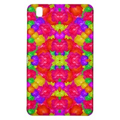 Multicolor Floral Check Samsung Galaxy Tab Pro 8 4 Hardshell Case by dflcprints