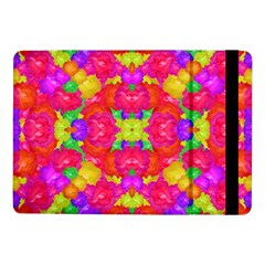 Multicolor Floral Check Samsung Galaxy Tab Pro 10.1  Flip Case by dflcprints