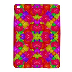 Multicolor Floral Check Ipad Air 2 Hardshell Cases by dflcprints