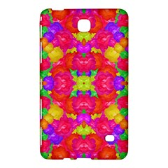 Multicolor Floral Check Samsung Galaxy Tab 4 (8 ) Hardshell Case  by dflcprints