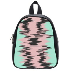 Wave Form 			school Bag (small) by LalyLauraFLM