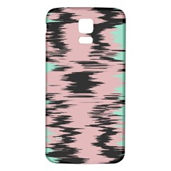 Wave form Samsung Galaxy S5 Back Case (White) by LalyLauraFLM