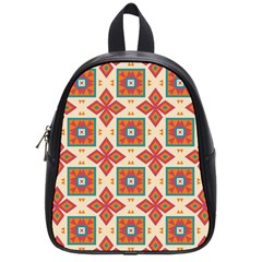 Floral Pattern  			school Bag (small) by LalyLauraFLM